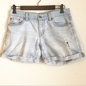 3/$20 Gap 1969 Distressed Sexy Boyfriend Shorts